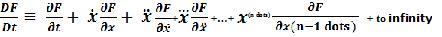 Generalized Fluid Equation